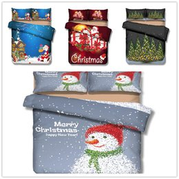 $enCountryForm.capitalKeyWord Australia - Home Textile Bedding Set Single Double King Size for Christmas Bedding Cover Suit gift for kids cartoon Bedclothes