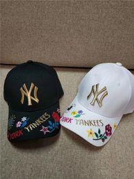 Mlb Caps Australia - Luxury Brand MLB NY Peaked Cap Baseball Cap Hat  Practical Outdoor Hedging 49b49f033a