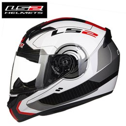 EcE ls2 hElmEt online shopping - New Arrival LS2 FF352 Motorcycle Helmet Fashion Design Full Face Racing Helmets ECE DOT Approved Capacete Casco Casque Moto
