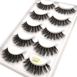 $enCountryForm.capitalKeyWord NZ - Mink Lashes 3D Mink Eyelashes Cruelty Lashes Full Strip Handmade Reusable Natural Eyelashes Cheap Popular False Lashes Makeup Wholesale