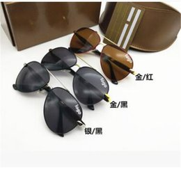Sun Glasses Logos Australia - 2019 Fashion italy brand bee sunglasses with logo women men fashion mix 3 colors big frame sun glasses lady driving shopping eyewear