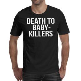 $enCountryForm.capitalKeyWord Australia - Men design printing Death to baby The Killers black t shirt design personalised vintage crazy band shirts hip hop t shirt creator novelt