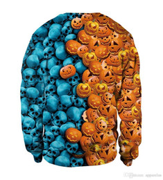 $enCountryForm.capitalKeyWord UK - Pop Halloween Day Element Round Neck Design Night Sweater For Lovers Fabric Name Chemical Fiber Blended Main Fabric Composition Polyester Fi