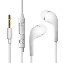 series stereo NZ - Headphones S4 stereo dual-channel in-ear headphones with microphone remote hands-free mobile phone headset for ios Android series mobile pho