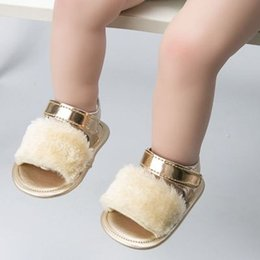 Infant Girl Slippers Australia - Toddler Girls sandals Fashion design infant baby shoes Slippers Warm Soft Kids home shoes children toddler solid free shipping