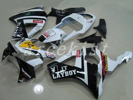Fairing Playboy Australia - New ABS motorcycle bike Fairings Kits Fit For HONDA CBR900RR 954 02 03 CBR954RR 2002 2003 bodywork set custom Fairing white black PLAYBOY