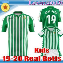 eaf007064 Adult kids 2019 2020 REAL Betis soccer jersey HOME away 19 20 JOAQUIN MANDI  BARTRA TELLO INUI CANALES FOOTBALL men youth Jerseys SHIRTS