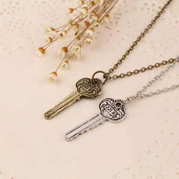 $enCountryForm.capitalKeyWord Australia - New Necklaces Pendants For Men Women Drama Movie Detective Sherlock Holmes Key Room 221b Zinc Alloy Link Chain Jewelry