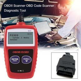 car code obd Australia - OBDII OBD Scanner Code Reader Car Diagnostic Scanner Engine Fault Code Reader