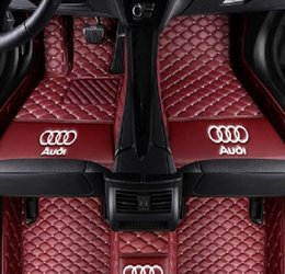 Audi A8l Australia - Suitable for Audi A1 A3 A4 A5 A6 A7 A8 A8L Q3 Q5 Q7 R8 S1 S3 S4 S5 2006-2019 car mat environmentally friendly tasteless non-toxic mat