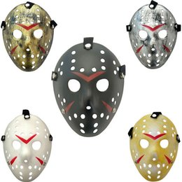hockey masks Australia - New Jason vs Friday The 13th Horror Hockey Cosplay Costume Halloween Killer Masquerade Mask Funny Halloween Full Face Masks Hot