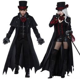 $enCountryForm.capitalKeyWord Australia - Cosplay Halloween costume adult men women couple vampire costume masquerade stage devil costume zombie ghost dress