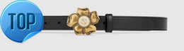 China Leather belt with metal flower butterfly feline Web elastic Bee Snake Dragon Tiger Head Feline Real leather belt supplier blue bee flowers suppliers