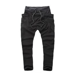 $enCountryForm.capitalKeyWord UK - Men Boy Casual Pants Hot Sale Hip Hop Pants Fitness Clothing Outwear Jogger Sweatpants Fashion Trousers