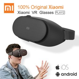 virtual reality controller Australia - Original Xiaomi VR Play 2 Virtual Reality 3D Glasses Headset Xiaomi Mi VR Play2 With Cinema Game Controller for 4.7- 5.7 Phone T191013