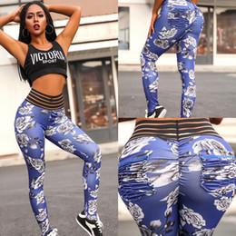 $enCountryForm.capitalKeyWord NZ - Hot Sale High Waist Digital Printing Elastic Quick Dry Fitness Sports Leggings Gym Yoga Pants for Women
