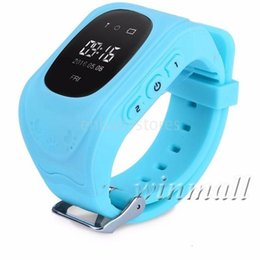 quad band smart watch NZ - Kids Lcd Gps Q50 Tracker Smart Watch Phone Sim Quad Band Gsm Safe Sos Call Smartwatch For Android & Ios
