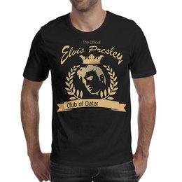 $enCountryForm.capitalKeyWord Australia - Elvis Presley logo gold Printed Mens Shirts Design Crewneck Short Sleeve T Shirt 7 Colors