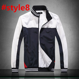 fa25a6643cd 2019 Spring jacket men s thin section Korean version of the trend of spring  and autumn youth large size stand collar sports tooling jacket
