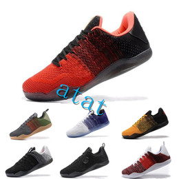 911af7c73843 2019 High Quality Kobe 11 Elite Men Basketball Shoes Kobe 11 Red Horse Oreo Sneakers  KB 11 Sports Sneakers 36-46