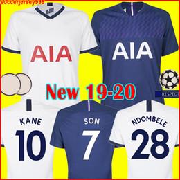 Shirt Soccer jerSeyS online shopping - Thailand Tottenham KANE soccer jersey spurs LUCAS jerseys ERIKSEN DELE SON Football shirt kit NDOMBELE uniforms champions