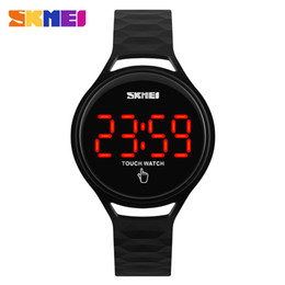 New Watch Touch Screen Australia - Unisex Touch Screen LED Display Digital Watch Fashion Casual Rubber Strap Sport Watches SKMEI 1230 Original Water Resistant 30m Clocks