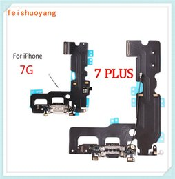 iphone wifi connector Australia - Charging Port Flex Cable For iPhone 7 7 Plus Charger Data USB Dock Connector with Headphone Audio Jack Mic Antenna Antena Wifi Cable