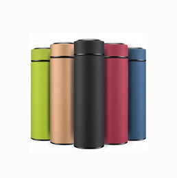 $enCountryForm.capitalKeyWord UK - 2019 500ml Thermal bottle Stainless Steel Vacuum Flasks thermo Cup Coffee Tea Travel Mug with Strainer thermos water bottle Thermoses H204