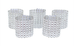 $enCountryForm.capitalKeyWord UK - Rhinestone Napkin Rings Wedding Banquet Napkin Holder Wrap Buckle Chair Sashes Bow Covers Hotel Party Decoration