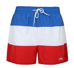 Vente en gros LACOSTE Board Shorts Mens Beach Shorts Pantalons de haute qualité Maillots de bain Bermudes Homme Lettre Surf Life Men Swim