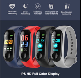 camera drop shipping Australia - Factory Store Smart Watch Band Bracelet Wristband Fitness Tracker Blood Pressure Heart Rate M3 Smartwatch Drop Shipping