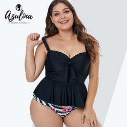 73e55bb2cd2172 Tankini Taille Plus Tops Maillot De Bain Distributeurs en gros en ...