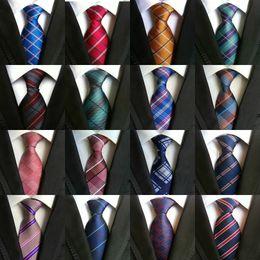 $enCountryForm.capitalKeyWord Australia - 295 Styles 8 cm Men Ties Silk Tie Mens Neck Ties Handmade Wedding Party Gold Paisley Necktie British Style Business Ties Stripe