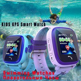 $enCountryForm.capitalKeyWord Australia - Waterproof DF25 Q100 Children GPS Swim touch phone smart baby watch SOS Call Location Device Tracker Kids Safe Anti-Lost Monitor PK Q90 Q60