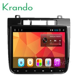 "Vw Stereos Android Australia - Krando Android 8.1 8.4"" Full touch Big Screen car dvd multimedia system for VW TOUAREG 2011-2015 multimedia player gps BT wifi"