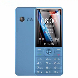 Original Philips E517 4G LTE Cell Phone 512M RAM 4GB ROM SC9820E Android 2.4 inches 0.3 million 1700mAh Mobile Phone on Sale