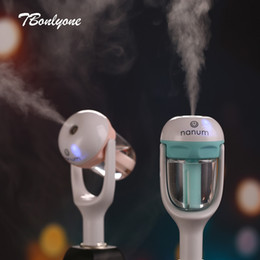 $enCountryForm.capitalKeyWord Australia - Tbonlyone 50ml For Vehicle Charger Water Soluble Oil Aroma Diffuser Mini Electric Ultrasonic Air Car Humidifier Q190601