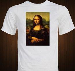 "$enCountryForm.capitalKeyWord Australia - "" Mona Lisa "" Leonardo Da Vinci Famous Art Portrait T-shirt Fashion Casual Cotton Summer T-shirt Fashion Printing New Hipster"