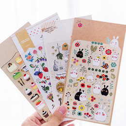 $enCountryForm.capitalKeyWord Australia - Creative Stationery Cartoon Hot Gold Waterproof Decoration Handbill Sticker Album Children's Kindergarten Award Poster