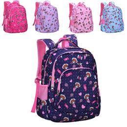 School kidS cartoon characterS online shopping - Student Cartoon School Bag Back To School Girls Grades Comic Girl Candy Stitching Zipper Backpack Kids Ridge Leisure Travel Backpack