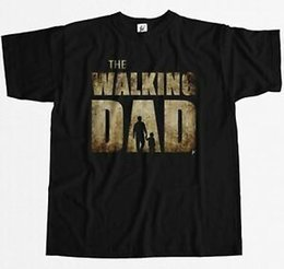 f7dbf0d5 Father Sons Shirts Australia - The Walking Dad Parody Father Son Fathers  Day Mens T-