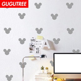 $enCountryForm.capitalKeyWord Australia - Decorate Home mouse cartoon art wall sticker decoration Decals mural painting Removable Decor Wallpaper G-1890