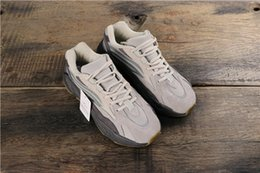 Vente en gros Nouvelles couleurs Tephra Static 700 Vague Runner Inertia Mauve Hommes Femmes Chaussures de course Designer Chaussures 700 Kanye West Sport Sneakers 36-45