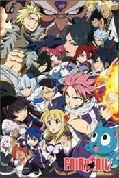 fairy tail prints UK - FAIRY TAIL - ANIME Art Silk Print Poster 24x36inch(60x90cm) 015