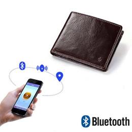 $enCountryForm.capitalKeyWord Australia - YICHENG Genuine Leather Smart Wallet RFID Men High Quality Anti Lost Intelligent Bluetooth Purse Male Card Holders Fashion Small #302574