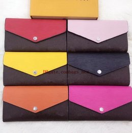 wholesale chain wallets NZ - Nice Quality Bottoms Lady Long Wallet Multicolor Top Quality Coin Purse Card Holder With Box Women Classic Zipper Pocket Free Shpping