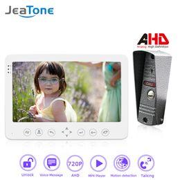 $enCountryForm.capitalKeyWord Australia - JeaTone 720P AHD 7'' Video Door Phone Intercom Door Bell Security Access System Voice message Motion Detection MP4 Player