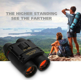 x vision Australia - New Mini Binoculars Telescopes Folding with Night Vision Binoculars Zoom Optical Len Telescope for bird watching travelling
