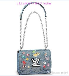 b778d5f0b Louis Original LVLV Bags Designer Luxury Handbags Shoulder Tote Epi Genuine  Leather All Denim Handbag Cross Body Bag TWIST MM Clear Plum