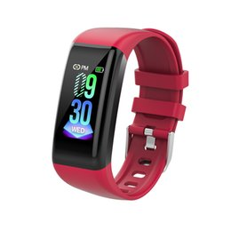 Smart Watch Iphone Android Australia - Fashion Sport Bracelet Smart Watch Water Resistant Wristband with Heart Rate Monitor Sports Tracker For Apple iPhone Android Samsung